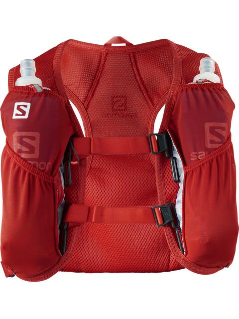 Salomon Agile 2 Backpack Set fiery red
